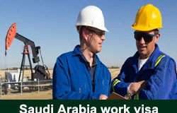 Saudi Arabia work visa
