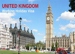 The United Kingdom working holiday visa