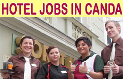 How to get Canada hotel jobs